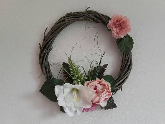 Check out this item in my Etsy shop https://www.etsy.com/listing/563003021/floral-wreathfront-door-wreathdoor