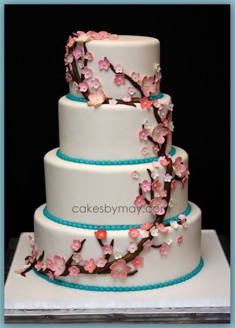 wedding cake cherry blossom design 1000 images about cherry blossoms theme on 22188
