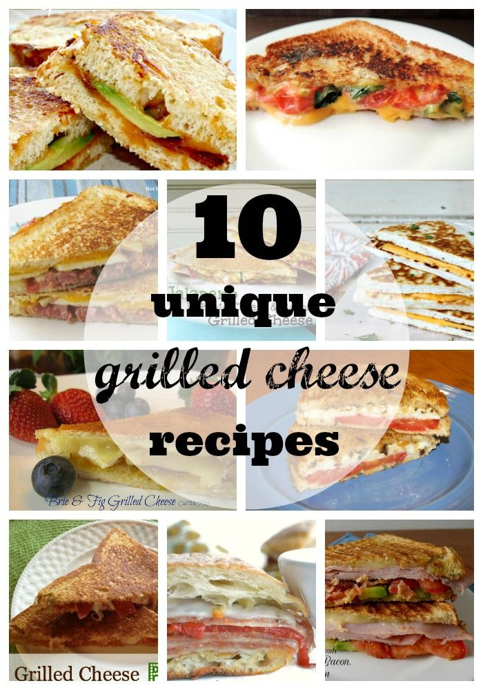 10 Unique, Delicious & Comforting Grilled Cheese