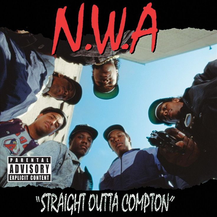 N.W.A - Straight Outta Compton [Explicit Lyrics] (CD)