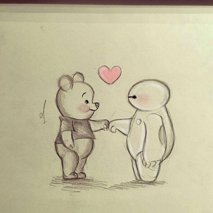 Zeichnen In 2019: Zeichnungen, Disney Zeichnungen