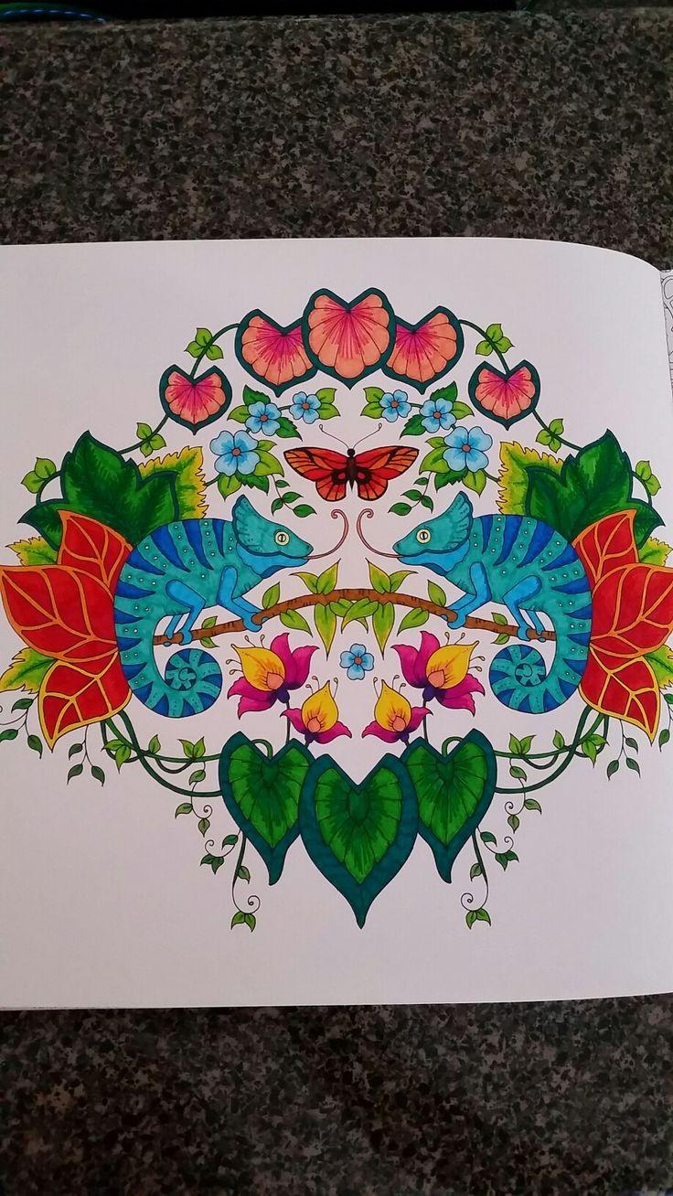 MagicalJungle Johanna Basford Coloring BooksAdult