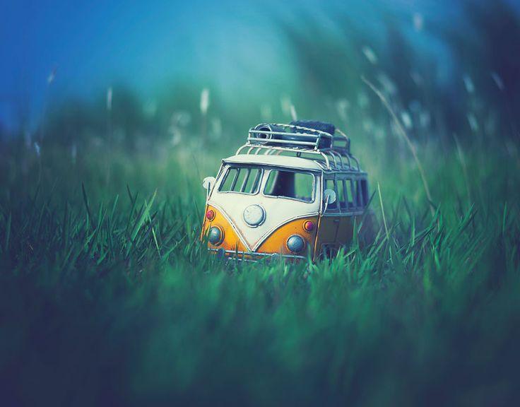 I Create Atmospheric Miniature Car Scenes That Remind Me Of My Childhood   Bored Panda