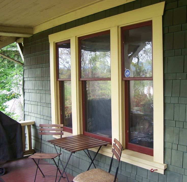17 best images about window trim on pinterest craftsman for Window design outside