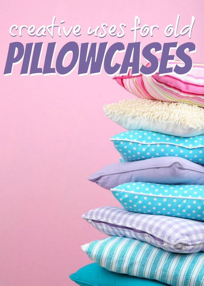 DIY Pillowcase Crafts and Ideas! Homemade Projects for Kids!