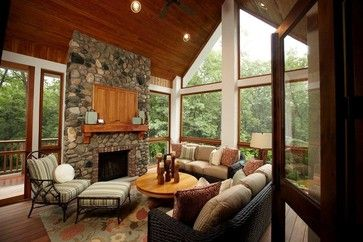 17 best images about four season rooms on pinterest for Four season rooms with fireplaces