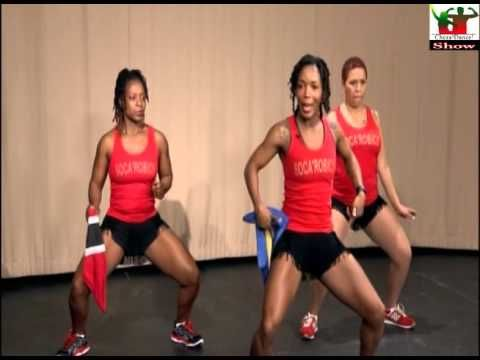 Learn how to dance to Soca (Caribbean Music) with Soca'Robics - YouTube