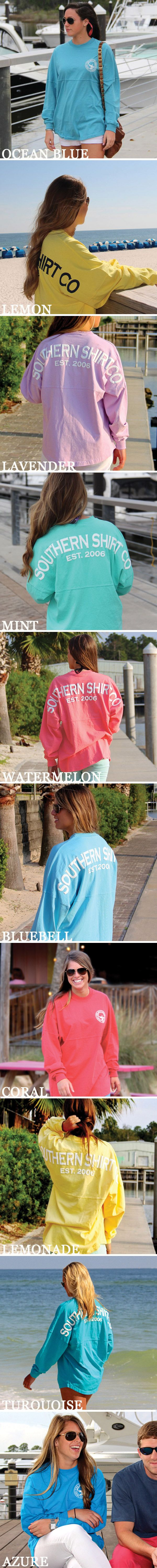SSCo Jersey Pullovers. I saw someone wearing one at the beach the other day!