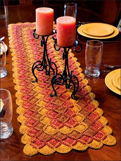 The 37 Best Crochet Table Runner Images On Pinterest Crochet