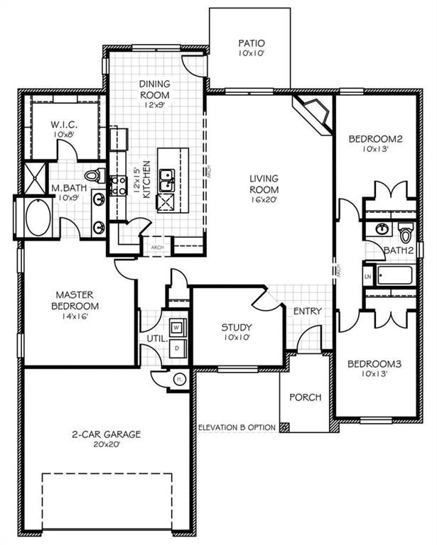 Image Result For 2509 Crown Valley Floor Plans Floor Plans Porch Elevation Zillow