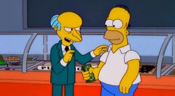 Bufón o Asistente Ejecutivo a Cargo de las Bromas en 'Homer contra la dignidad'