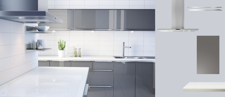 kitchen cabinets abstrakt high gloss grey office renovation pinterest countertops white. Black Bedroom Furniture Sets. Home Design Ideas