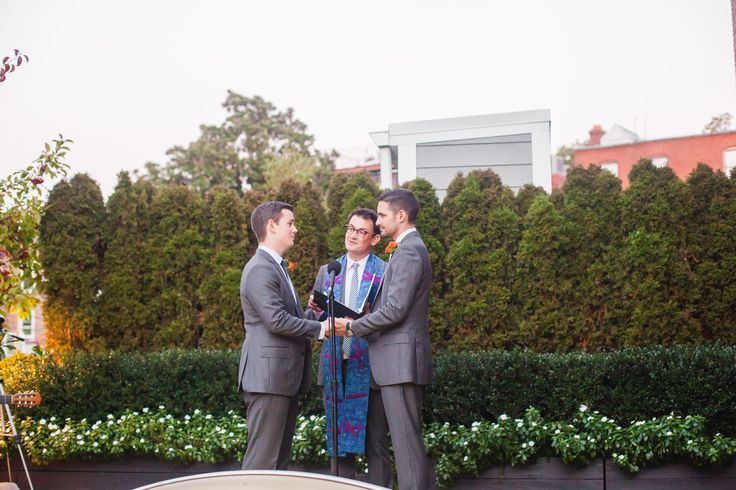 A beautiful rooftop wedding! #DC #FathomGallery