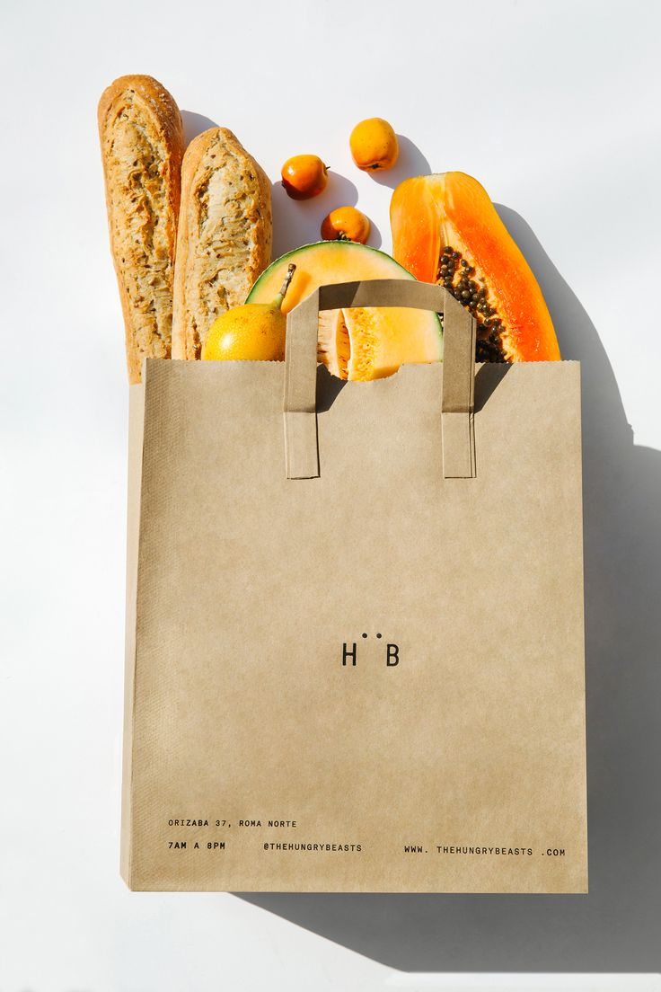Logo, graphic identity, packaging and social media campaign designed by Savvy for Mexican cafe and juice bar Hüngry Beast
