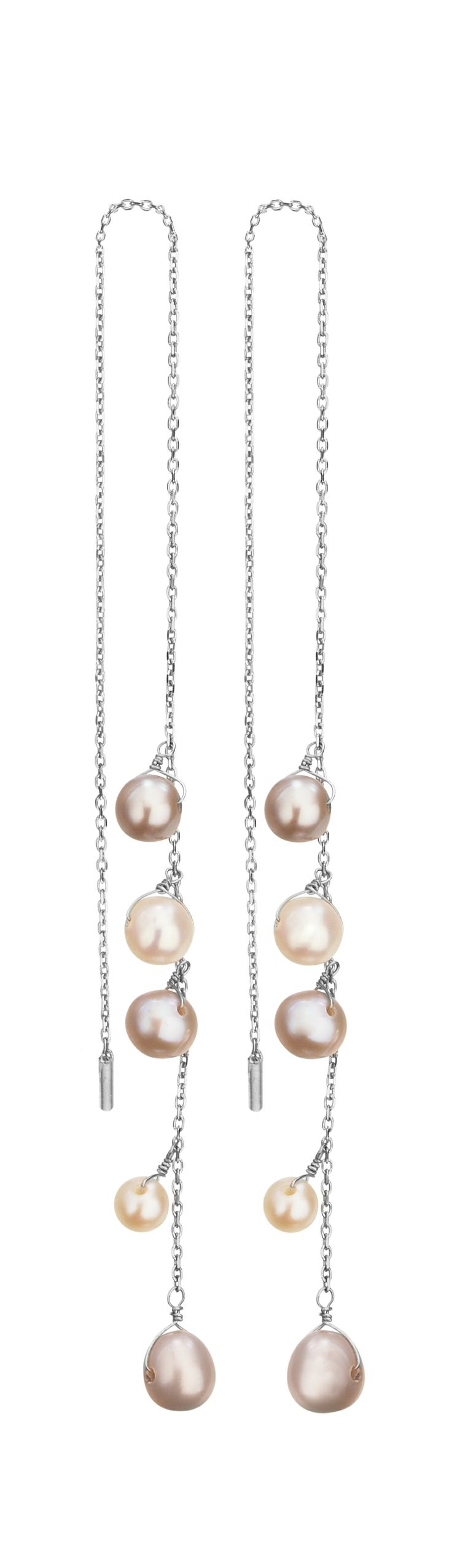 TOUS Suspiro earrings with cultured pearls