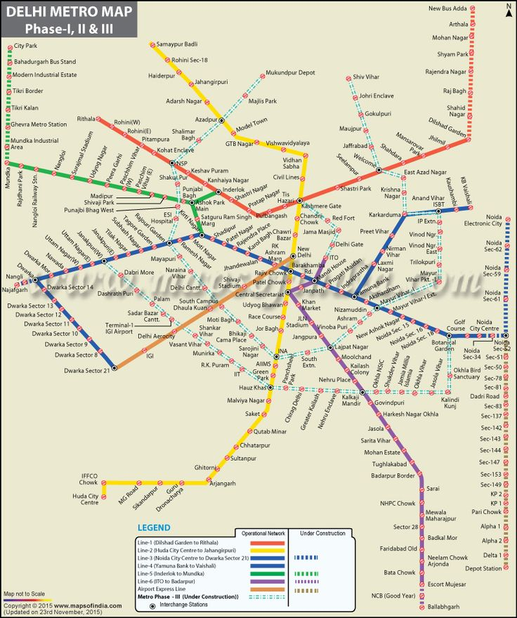 Delhi Metro Map                                                                                                                                                                                 More