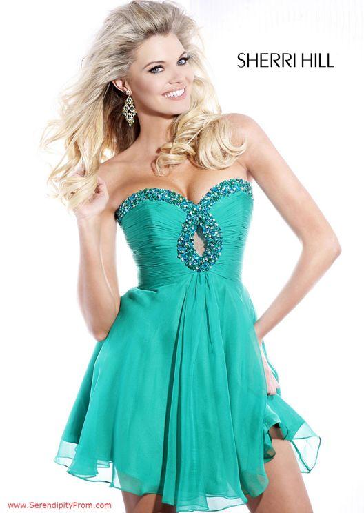 Serendipity Prom -Sherri Hill 2944 cocktail dress - Sherri Hill 2014 Cocktail - sherri2944