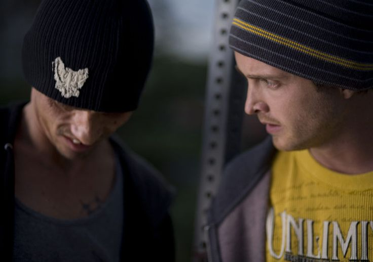 Breaking Bad Season 2 Episode Photos  Skinny Pete (Charles Baker) and Jesse Pinkman (Aaron Paul) in Episode 6.