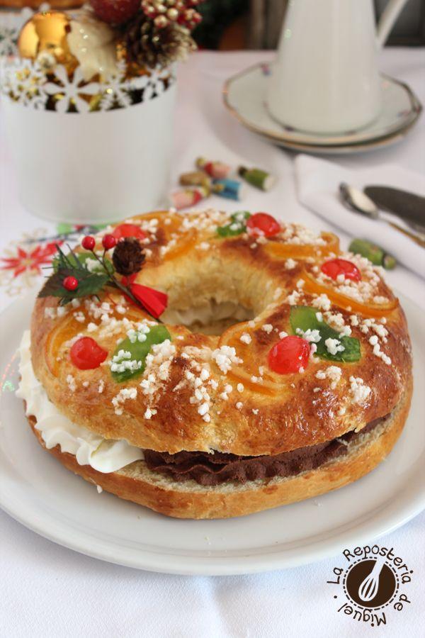 Roscón de Reyes. Spanish king's cake ( 6 january )