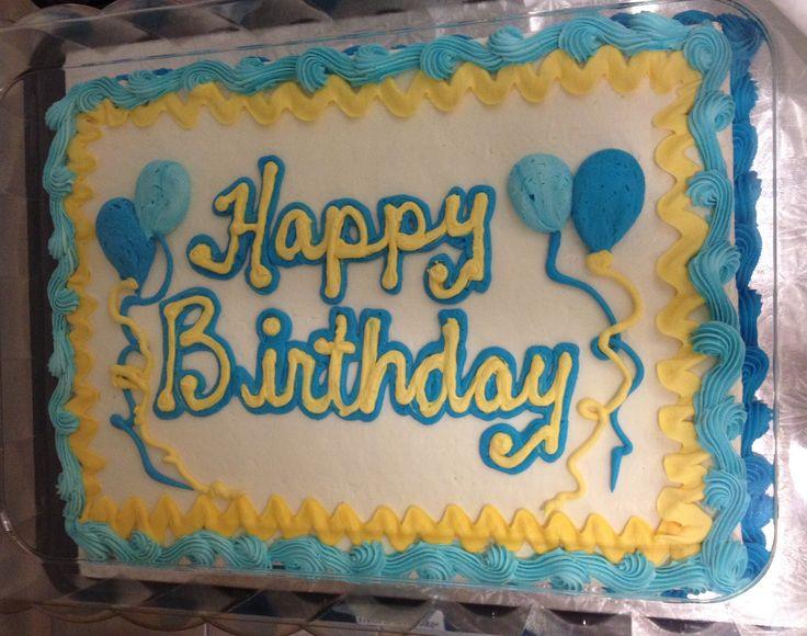 Grundlegender blauer und gelber Blattkuchen   – Baking