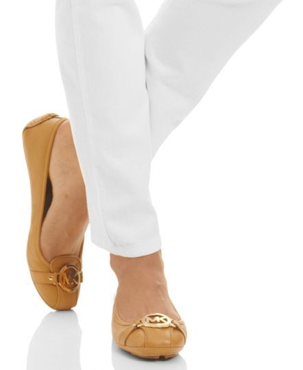 MICHAEL Michael Kors Fulton Moc Flats | macys.com. Tried these on at the store and OMG are they ever comfy!!!! Want!