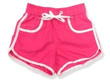 ladies women bright hot pink neon sports polyester swimming swim wear shorts Best Buy follow this link http://shopingayo.space