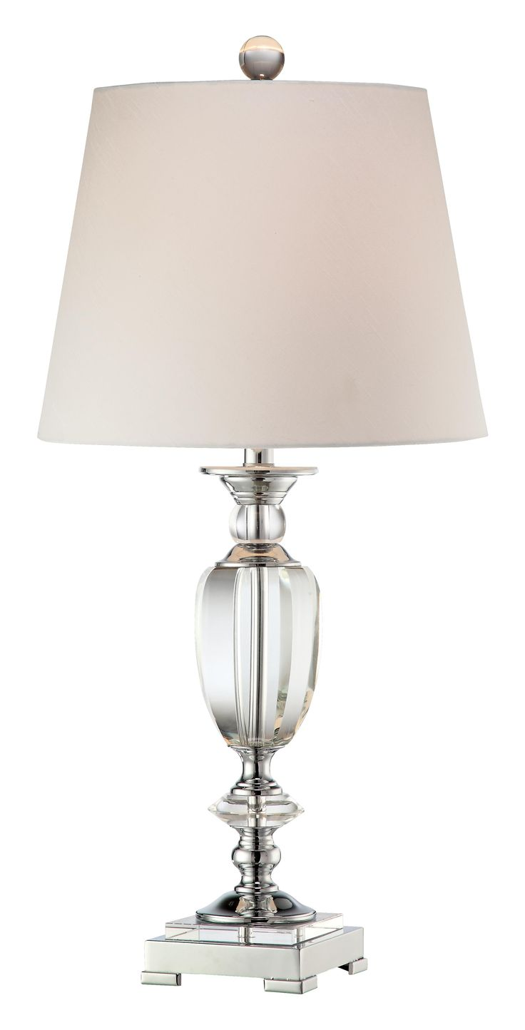Wildwood brass and crystal beads buffet - Vienna Full Spectrum Beveled Crystal Urn Table Lamp