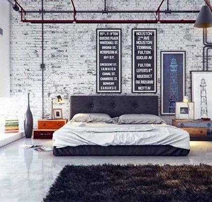 Cool bedroom space