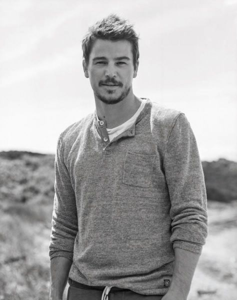 Josh Hartnett for Marc O'Polo