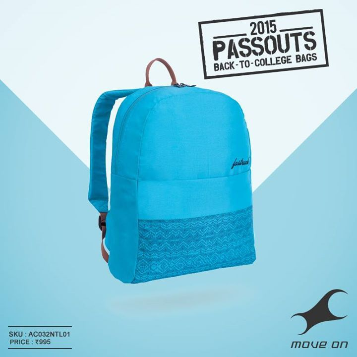 Call it a night. Time for you to hook up with one of the #Passouts campus bags from Fastrack. http://fastrack.in/products/bags/sku-ac032ntl01/