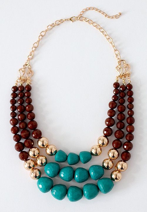 Betty Rubble Statement Necklace #starlet #shopstarlet #statement #jewelry #bauble