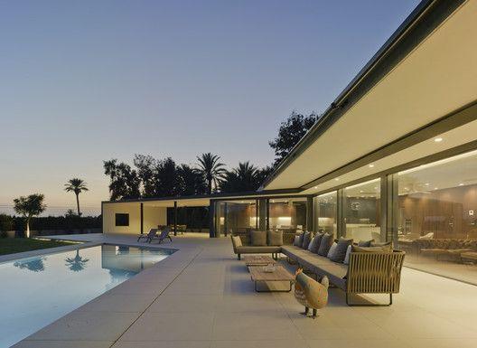 Gallery Of Single Family House In Valverde Estudio Arn Arquitectos 20 Modern Architecture House Architecture Residential Architecture
