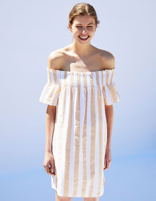 Striped Dress #beach #summer #stripes #dress #white #fashion
