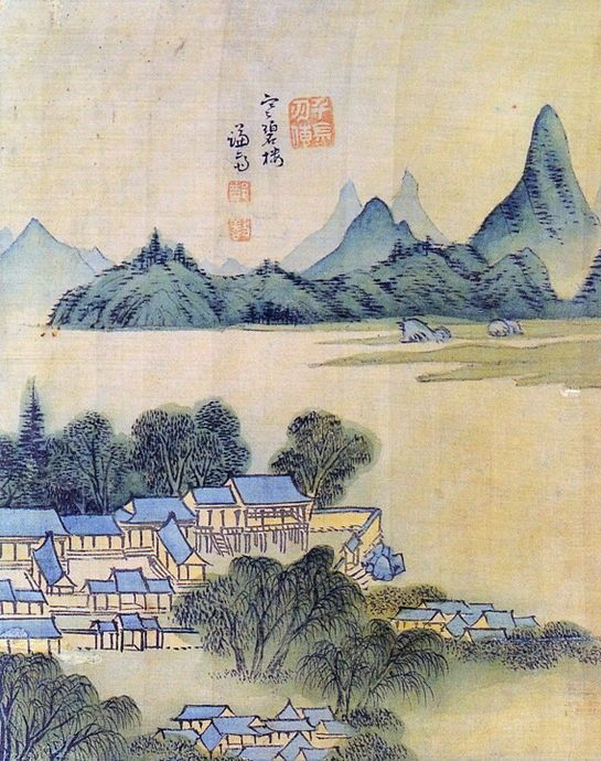 The Real Landscape Painting   한복루