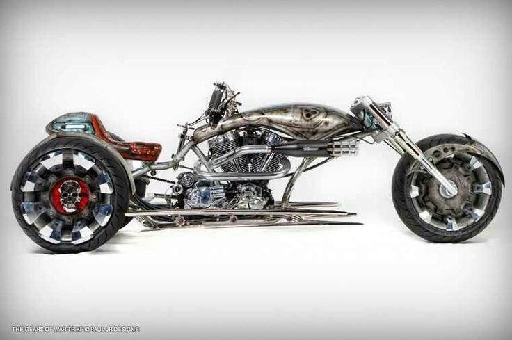 PJD Gods of War TrikeCustom Trike, Wars Trike, Gears Of Wars, Ass Bikes, Paul Jr, Wars Bikes, Sick Trike, Sweets Cars, Jr Design