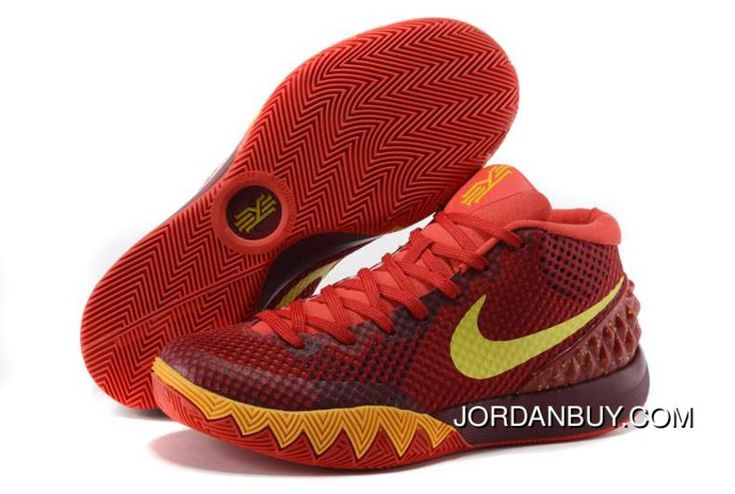 http://www.jordanbuy.com/hot-nike-kyrie-1-2015-red-yellow-orange-basketball-shoes-shoes-now.html HOT NIKE KYRIE 1 2015 RED YELLOW ORANGE BASKETBALL SHOES SHOES NOW Only $85.00 , Free Shipping!