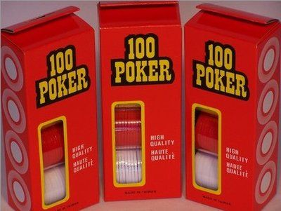 Poker Chips Pack 100