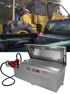 Toyota Tacoma Tool Box >> RDS Auxiliary Fuel Tank/Tool Box Combos | Products ...