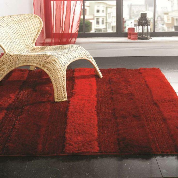 Splendour Deluxe Aspire Red Rug