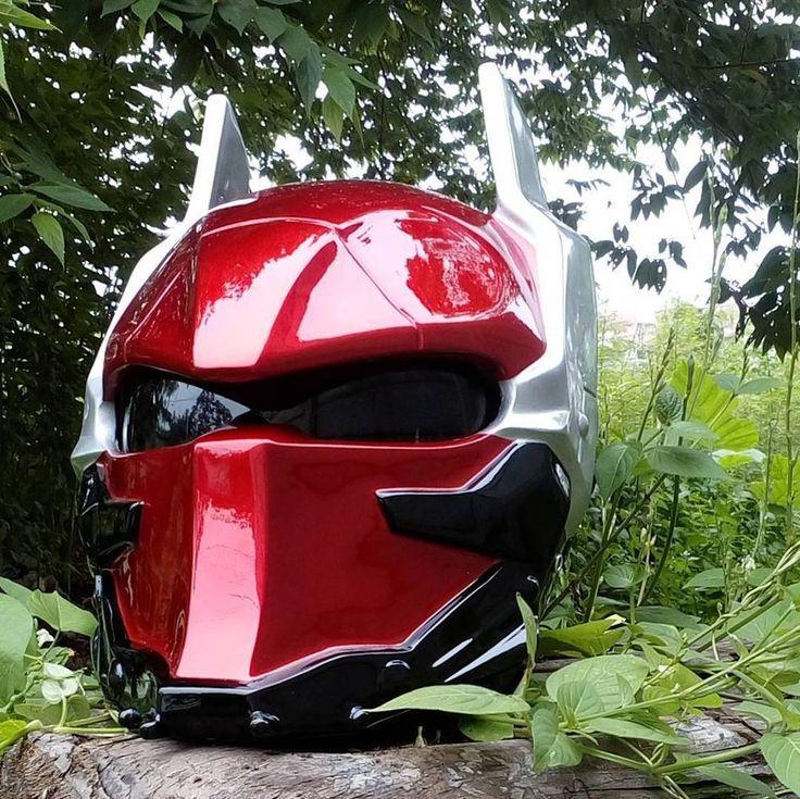 ARKHAM KNIGHT MOTORCYCLE HELMET ( DOT APPROVED ) #Unbranded #STARWARS