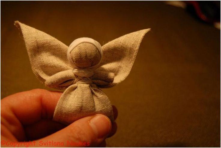 Ангел на пальчик. Мастер-класс Светланы Ноакес. Йорк, Великобритания