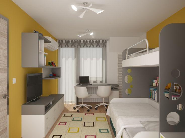 Einen Kleinen Raum Zu Dekorieren Kann Schwierig Sein, Aber Ein Kleines  Kinderzimmer Stellt Eine Noch Größere Herausforderung Dar, Denn Kinder  Haben Viele