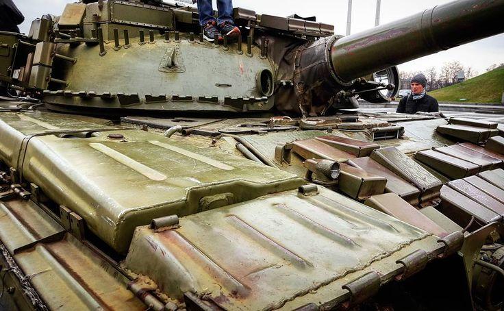 "5 Likes, 1 Comments - Pixel Panzers Official InstaG! (@panczarone) on Instagram: ""📷🔰 T64 in Kyiv 🔰📸 . . . . . . . . . . #т64 #ukraine #tank #tanks #танк #танки #україна #soviet…"""