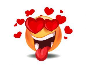 Kissing Emoticon Symbols   Animated Smileys & Emoticons: Heart, Love, Kiss, Romantic, Valentine ...