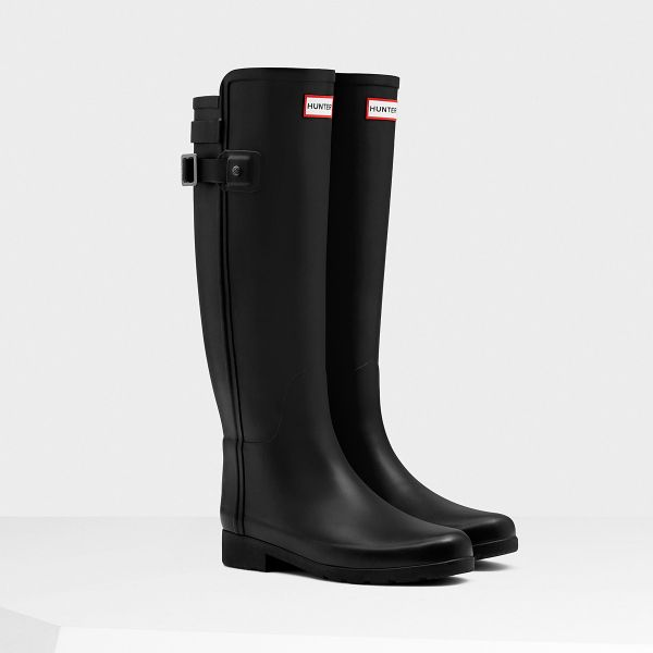 New this season. Introducing the Original Refined boot, a more tailored silhouette that's perfect for rainy days in the city. Shop now on hunterboots.com