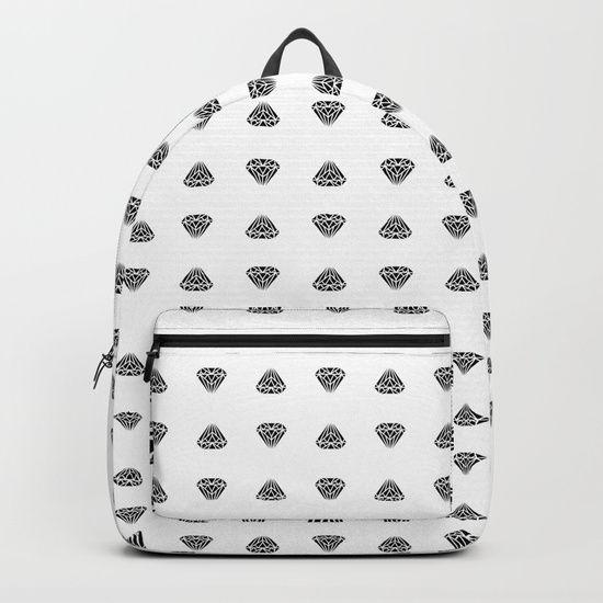 Diamonds are for boys too... Backpacks
