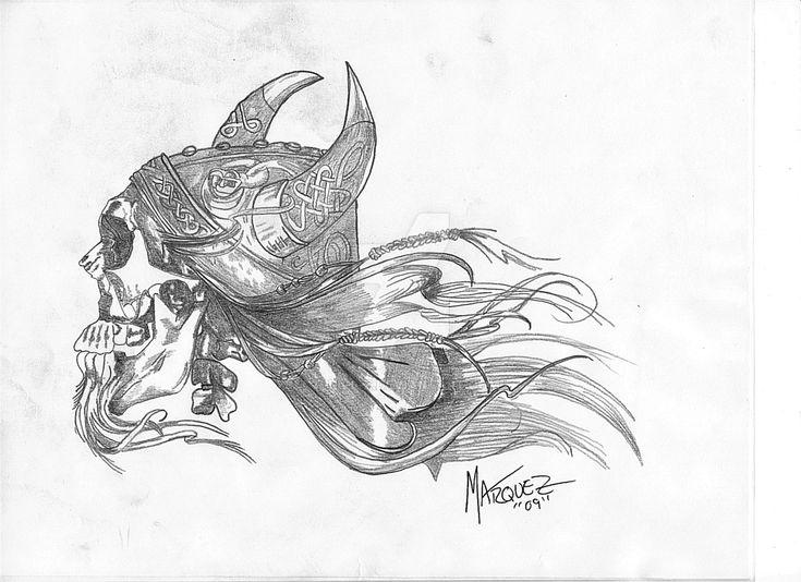 35 best Viking Head Tattoo Drawings images on Pinterest