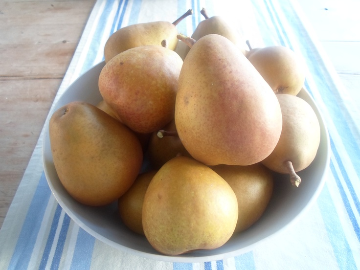 Pears from our garden