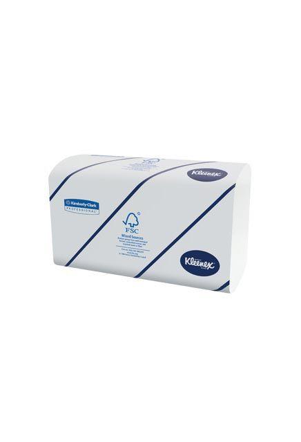 Kleenex, Essuie-mains en plis multiples Blanc