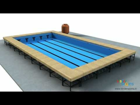 Portable Swimming Pool - YouTube